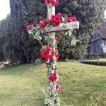 Rogate Church, Poppy Display