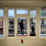 Soldier Silhouettes & Poppies, Petersfield Station