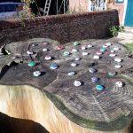 Remembrance rocks, Petersfield Scout Hut